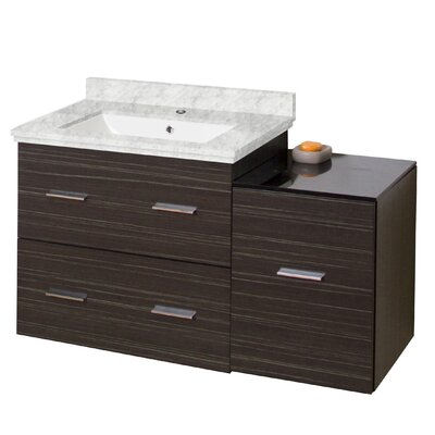 Xena Modern Wall Mount 37 Vanity Base Base Finish: Dawn Gray