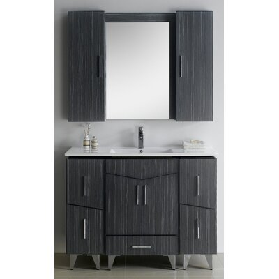 Zen 48 Modern Vanity Base Set