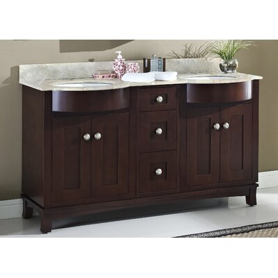 Tiffany 60 Transitional Vanity Base Set