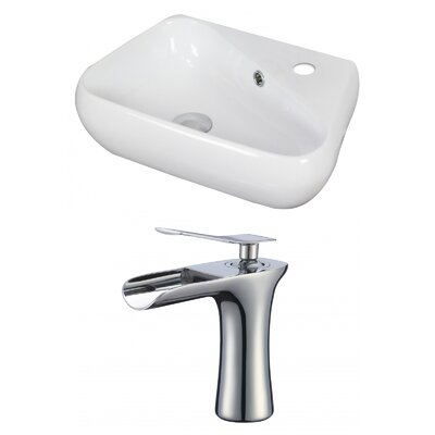 Specialty Vessel Bathroom Sink with Overflow