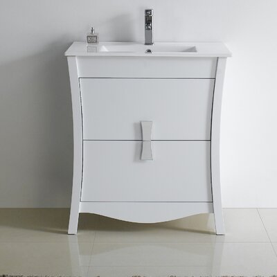 Bow 29 Modern Vanity Base Base Finish: White
