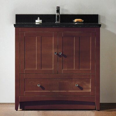 36 Modern Vanity Base Base Finish: Walnut