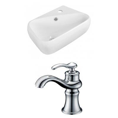 18 Wall Mount Bathroom Sink