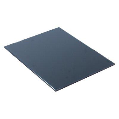 Vee 14 W x 18 D Glass Top