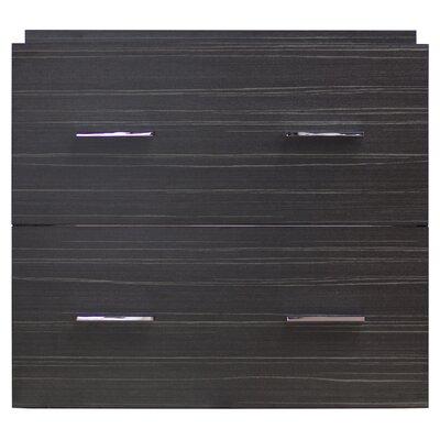 23 Modern Wall Mount Vanity Base Hardware Finish: Brushed Nickel