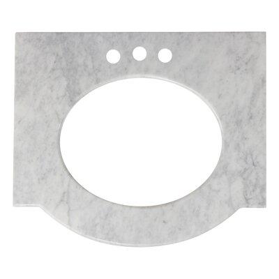 Tiffany Marble 26 Single Bathroom Vanity Top