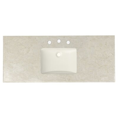 Juliet Marble 47.5 Single Bathroom Vanity Top