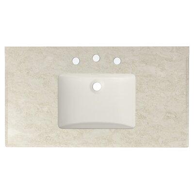 Juliet Marble 36 Single Bathroom Vanity Top
