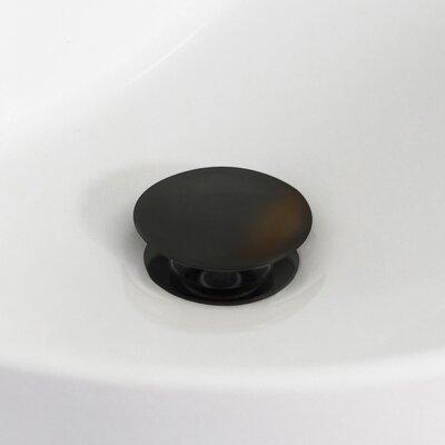 37 Single Bathroom Vanity Top Drain Color: Oil Rubbed Bronze