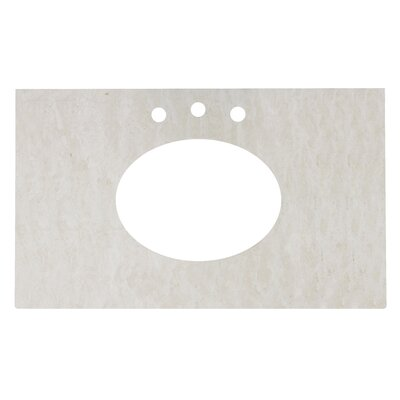 Juliet Marble 32 Single Bathroom Vanity Top
