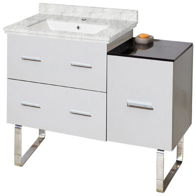 Xena Plywood-Melamine 33 Single Bathroom Vanity Base