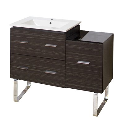 Xena Plywood-Melamine 37 Single Bathroom Vanity Base