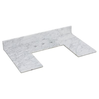 Marble 35 Single Bathroom Vanity Top
