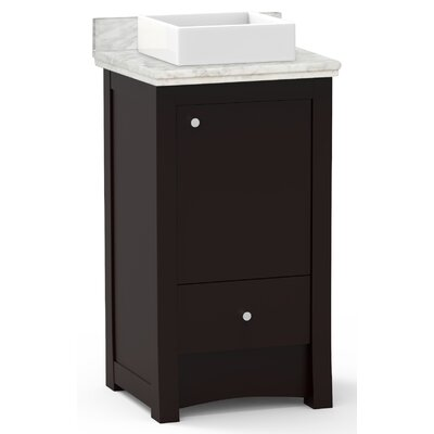 Alburgh 20 Single Bathroom Vanity Set Top Finish: Bianca Carara