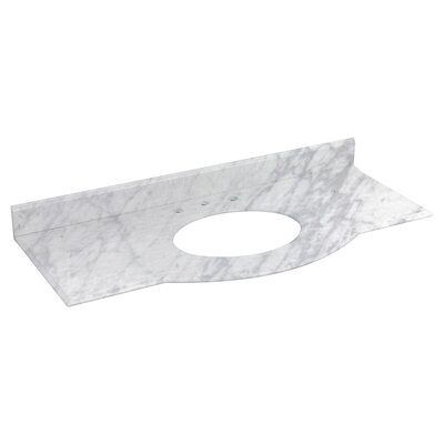 Allure Marble 50 Single Bathroom Vanity Top