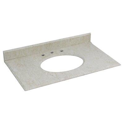 Hampshire Marble 37.25 Single Bathroom Vanity Top
