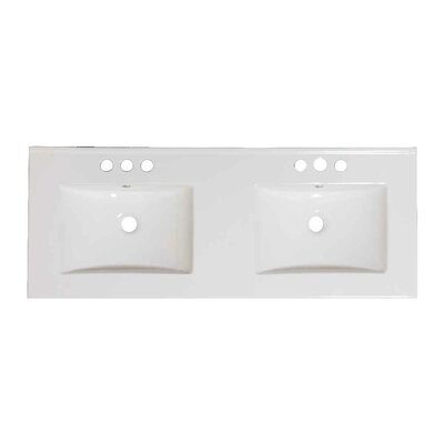 Dudelange 59 Double Bathroom Vanity Set