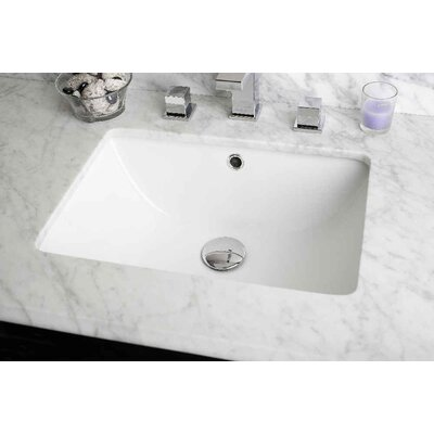 Hardenburgh Modern Drilling Floor Mount 32 Single Bathroom Vanity Set Sink Finish: White, Faucet Mount: 8 Centers