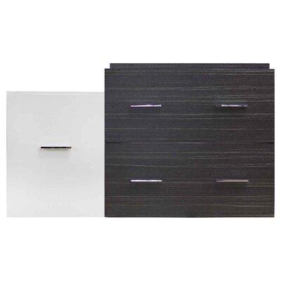 Xena Modern Wall Mount 37 Single Bathroom Vanity Base Base Finish: Dawn Gray