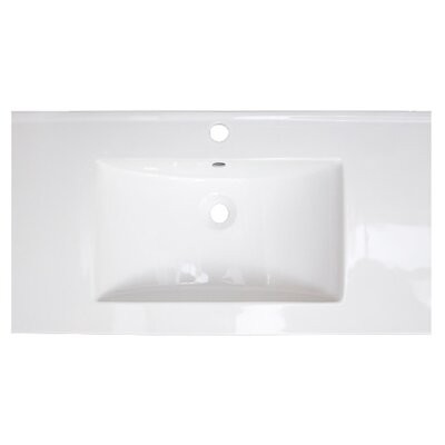 Flair Ceramic 32 Single Bathroom Vanity Top