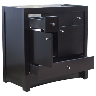Elite 34.5 Single Bathroom Vanity Base