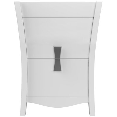 Cataldo Modern Rectangle 23 Vanity Base