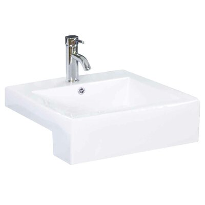 Batley 37 Single Bathroom Vanity Set Faucet Mount: Single