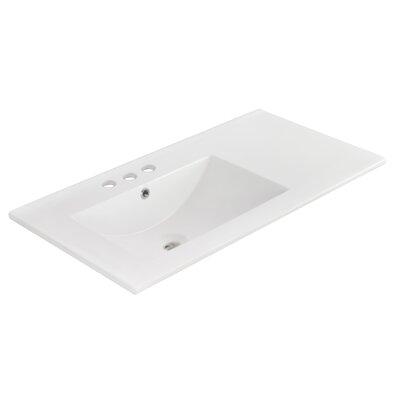 Kapp Exquisite Wall Mount 35.5 Single Bathroom Vanity Set