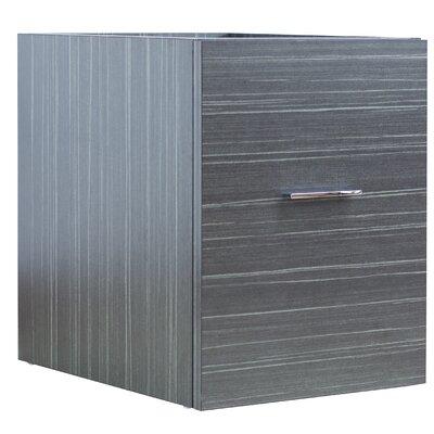 Maryalice Wall Mount 37.75 Single Bathroom Plywood Vanity Set