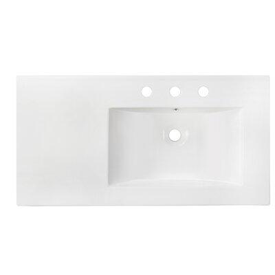 Kapp European Wall Mount 35.5 Single Bathroom Vanity Set