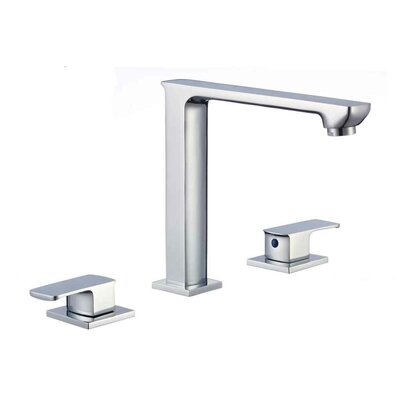 Widespread Double Handle Bathroom Faucet with Drain Assembly