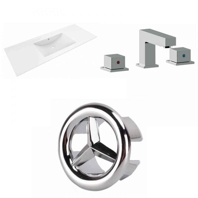 Alum Ceramic 48 Single Bathroom Vanity Top