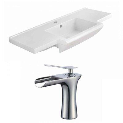 Prelude Ceramic 40 Single Bathroom Vanity Top