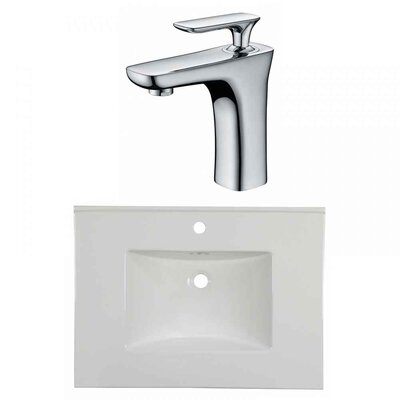 Flair 31 Single Bathroom Vanity Top