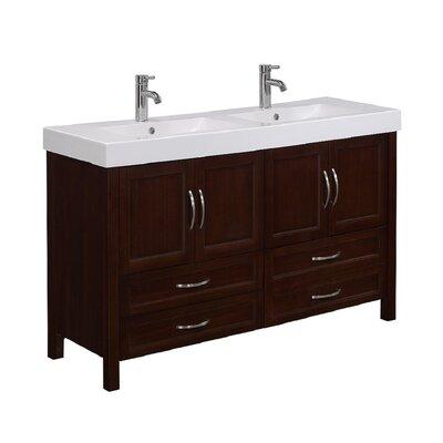 runfine larissa 56 quot bathroom vanity set