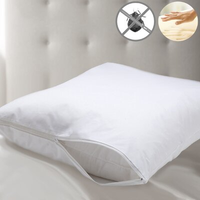 Memory Foam Pillow with Bed Bug Wrapper Protection