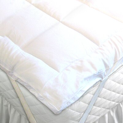 Duck Feather Mattress Topper Size: King