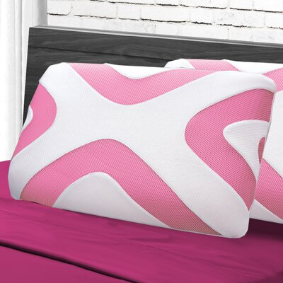Maison Blanche Lumbar Pillow Color: Neon White