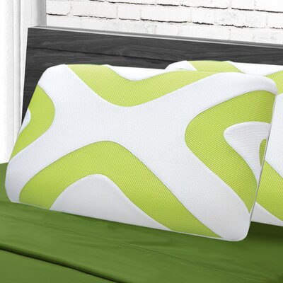 Maison Blanche Lumbar Pillow Color: Neon Green