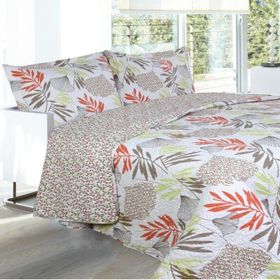 Lauren Taylor Odelleta Oriana 3 Piece Queen Coverlet set
