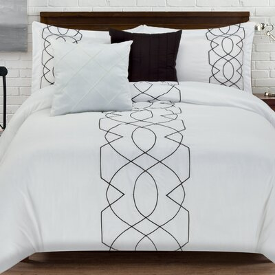 Boyce 5 Piece Comforter Set Size: King