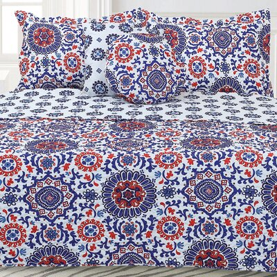 Robin Damask Quilt Set Size: King