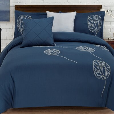 Kennebunkport 5 Piece Comforter Set Size: Full