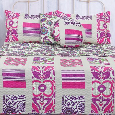 Lauren Taylor Tepic Quilt Set Size: Full / Queen