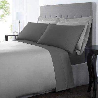 Blanc De Blancs 1000 Thread Count Sheet Set Size: King, Color: Charcoal