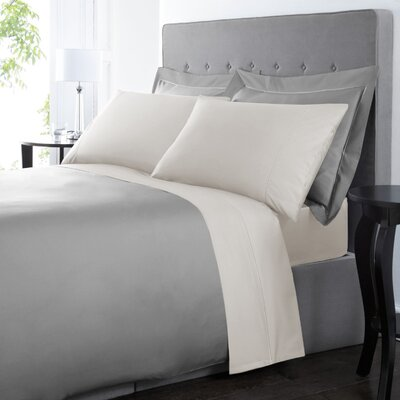 Blanc De Blancs 1000 Thread Count Sheet Set Size: King, Color: Ivory