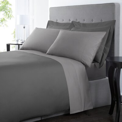 Blanc De Blancs 1000 Thread Count Sheet Set Size: Queen, Color: Gray