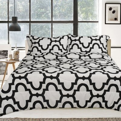Lauren Taylor 3 Piece Comforter Set Size: Queen