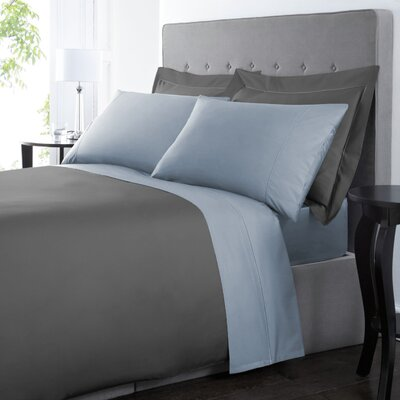 Blanc De Blancs 1000 Thread Count Sheet Set Size: King, Color: Pale Blue