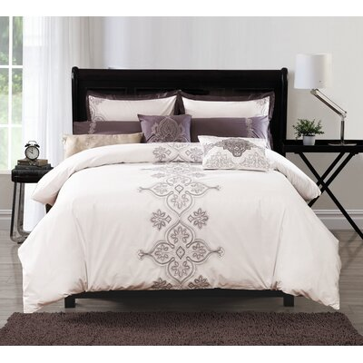 Rennan 6 Piece Comforter Set Size: Queen